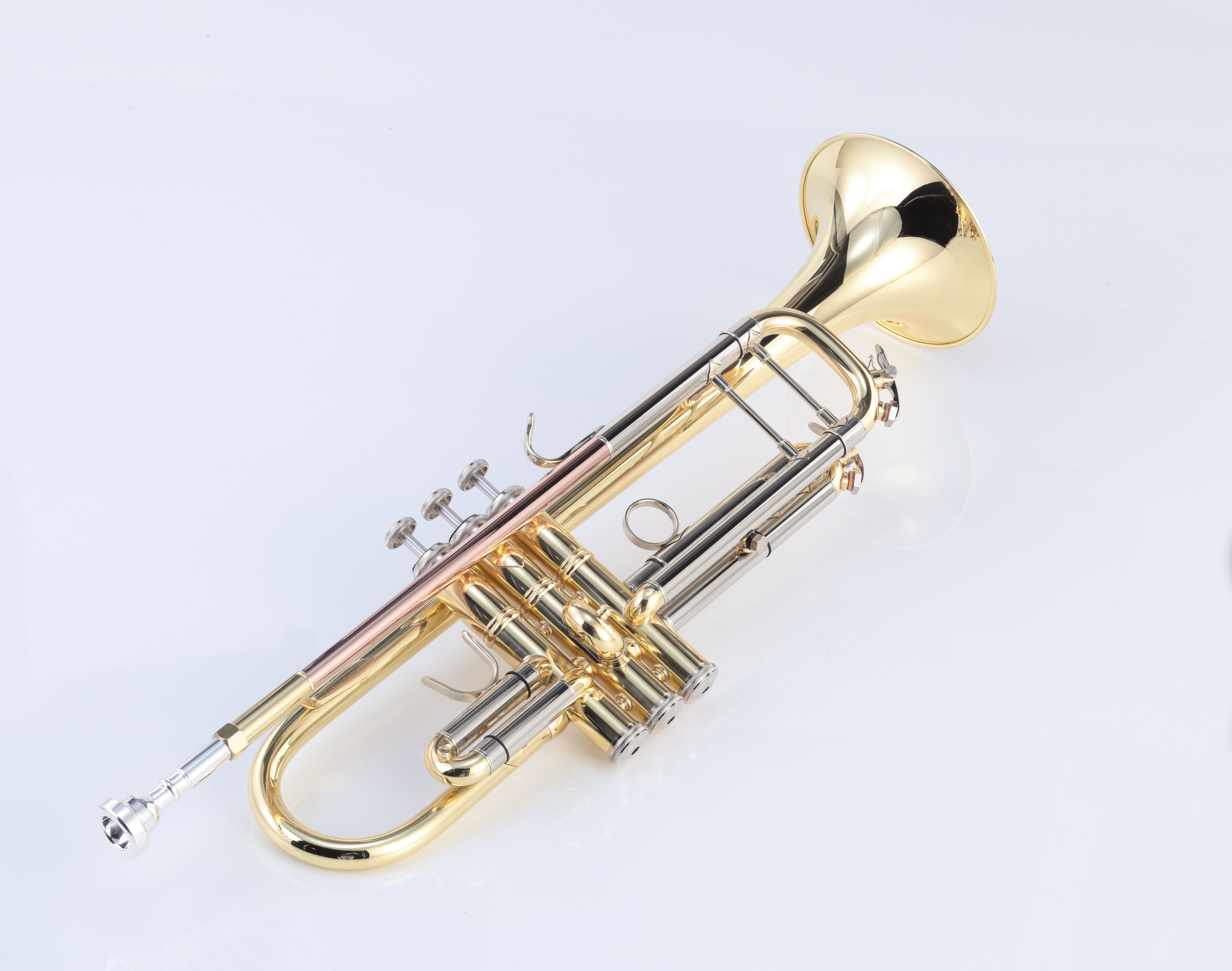 Students trumpet bach style gold lacquer