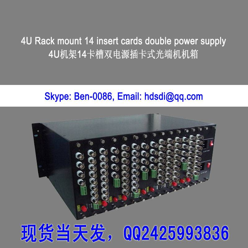1ch to 16ch AV&AHD&CVI&TVI to fiber optic converter