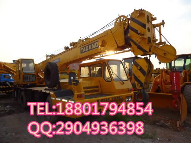 used TADANO 25t truck crane for sale