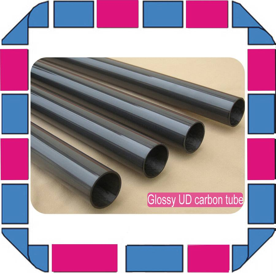3k carbon fiber tubes with different size,3k plain weave carbon tubes,glossy carbon tubes