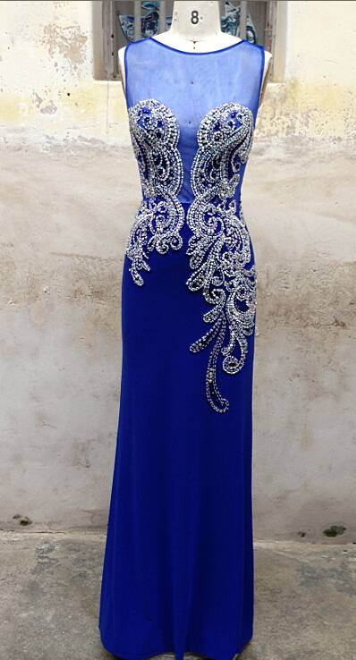 2016 best selling evening dress N215