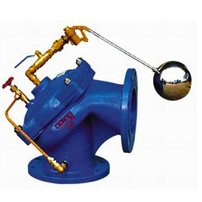 100A Angle Float Control Valve, Cast iron, Ductile iron, WCB