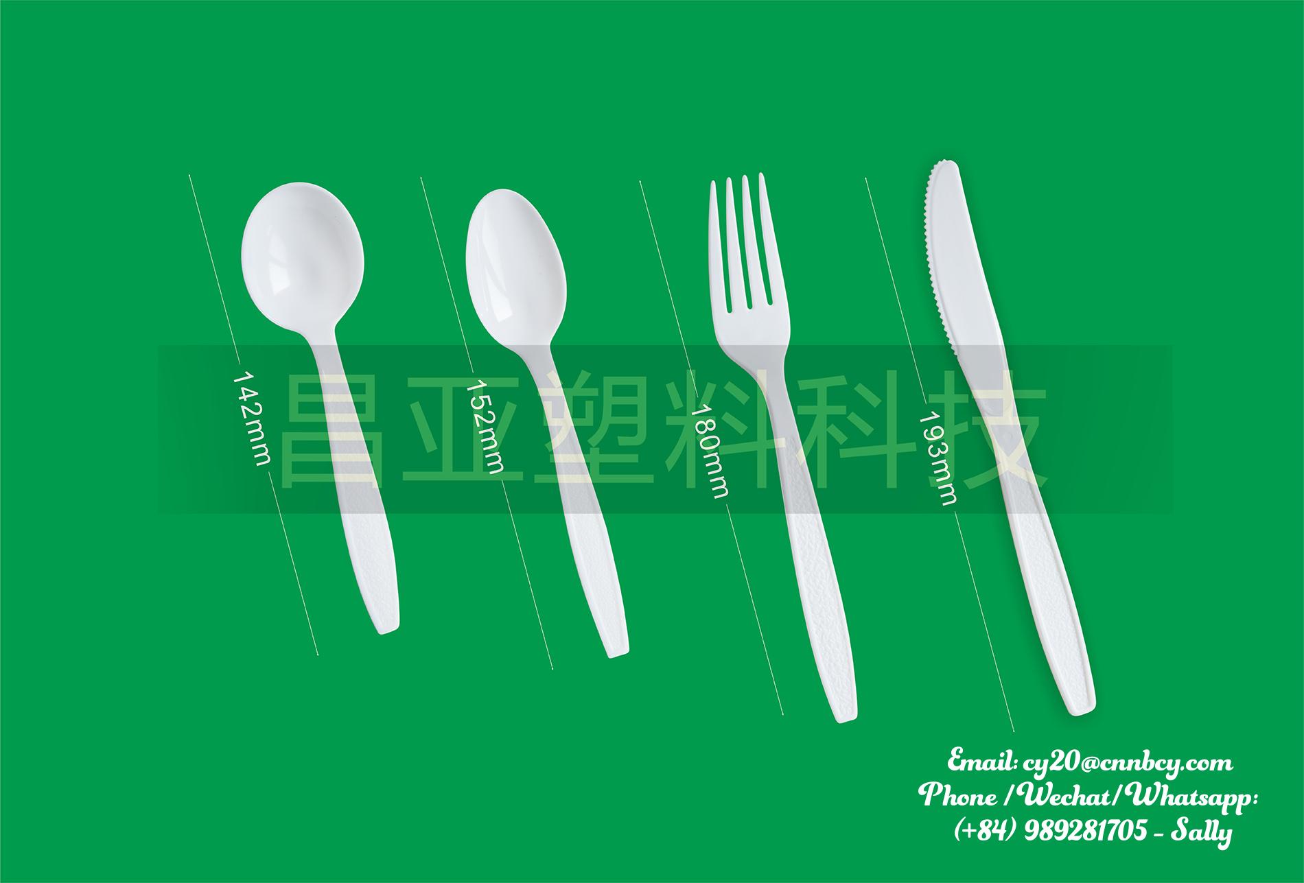 Disposable Plastic Heavy Duty Cutlery