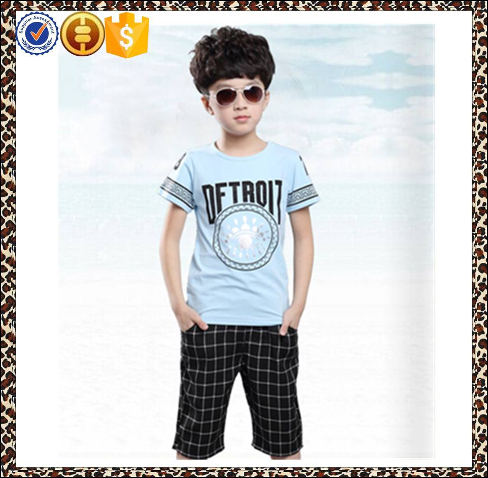 2016 OEM service fashion boy clothing sets