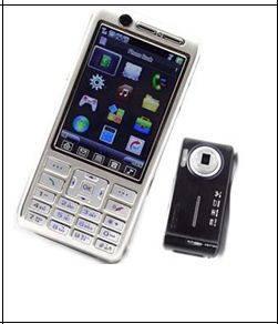 Tri-band dual card mobile phone (AK-F802)