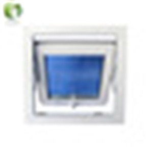 High quality PVC/UPVC Euro style top hung awning window in hot sale