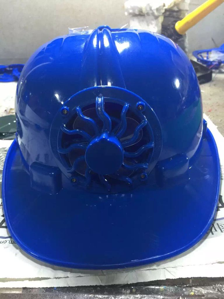 solar safety cap Solar Fan hats