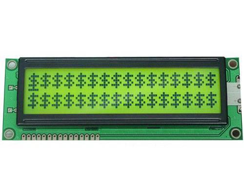 LCD module ATM1602S-FL-YBW Yellow Green Backlight