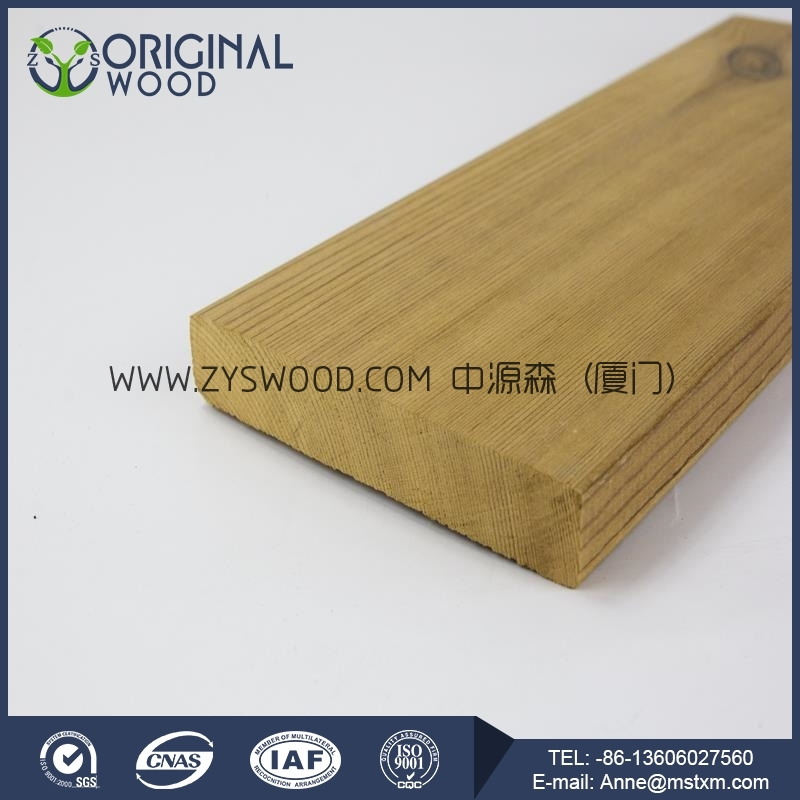 Thermo wood decking with high quality
