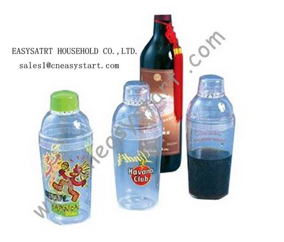 Wine plastic shaker