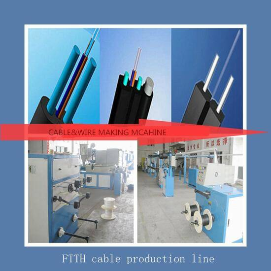 fiber optical cable making Machine for extruding