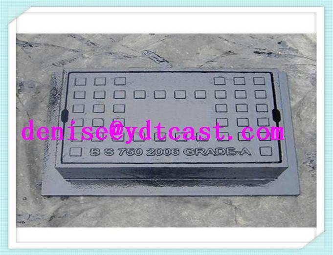 cast iron gray iron water meter box 3.5 kgs surface box EN124/B125 C250