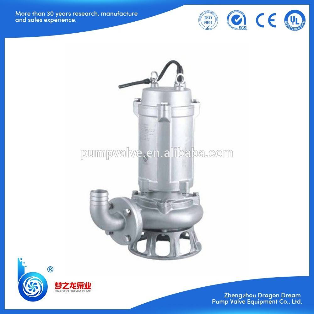 WQD/WQ series stainless steel slush pump