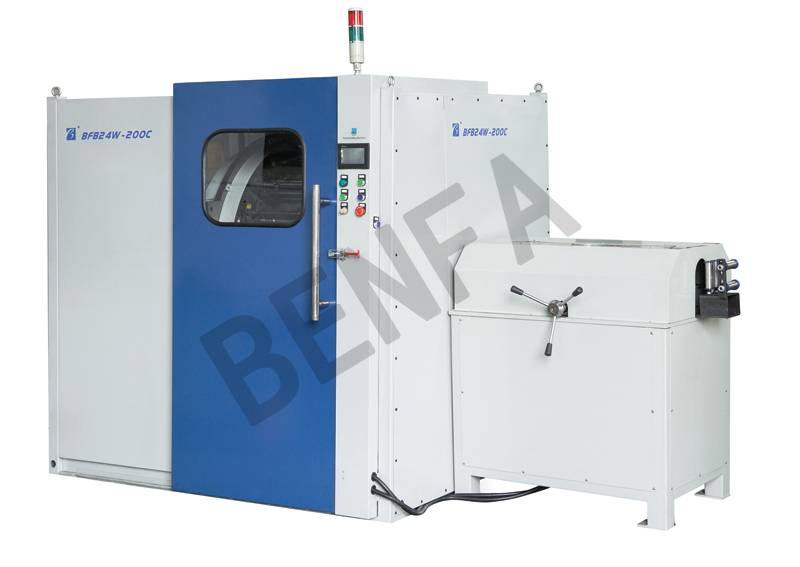 horizontal highly automative hose braiding machine series
