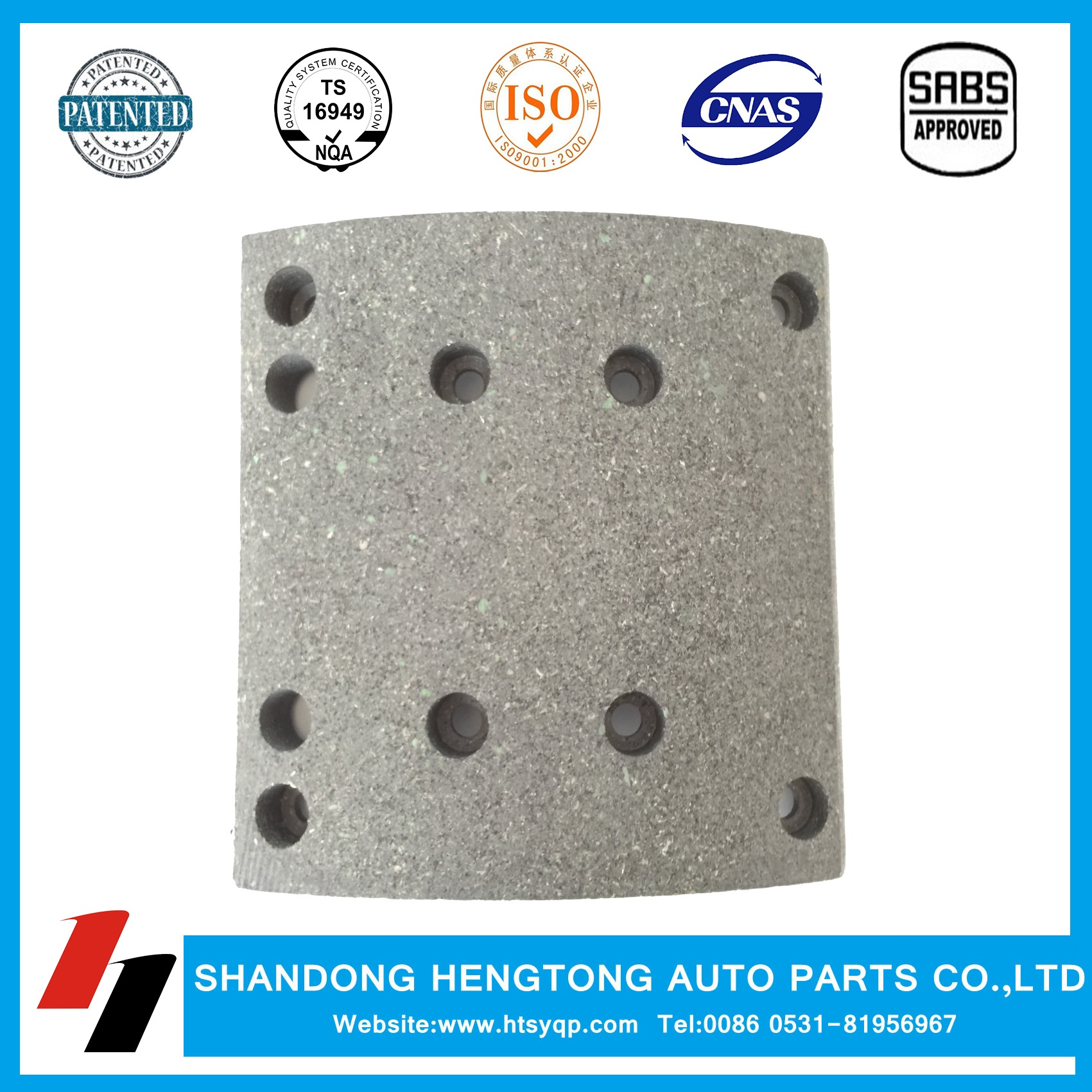 Man mercedes benz renault steyr brake lining wva19495 for Plaza mercedes benz service