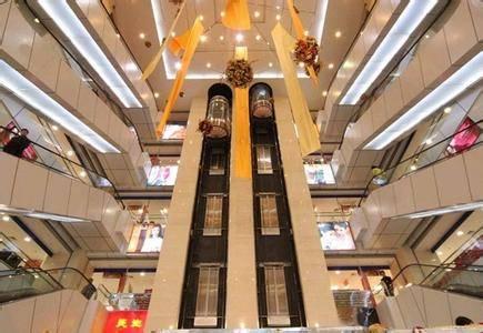 Panoramic Elevator, Sightseeing Elevator with Small Machine Room