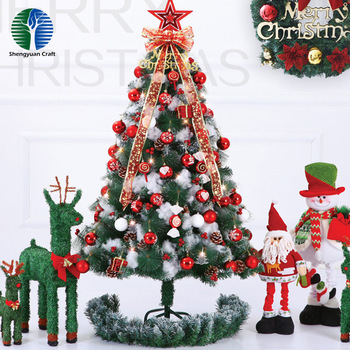 China suppliers PVC artificial christmas tree for christmas decor