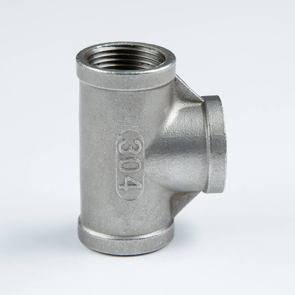 stainless steel pipe fittings, tee pipe fitting