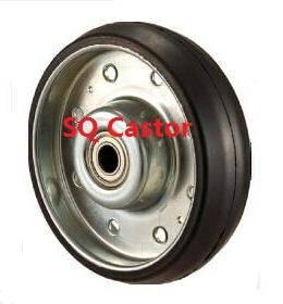 Silence rubber wheel