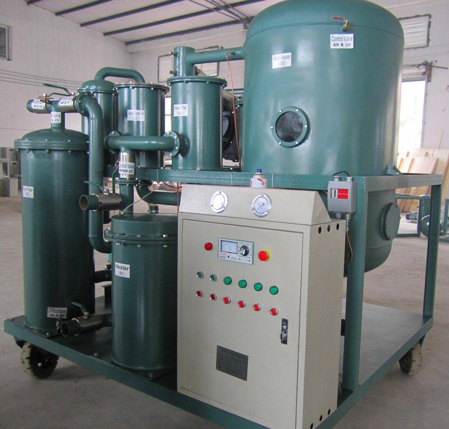 Lubricating Oil Purification Machine, Hydraulic Oil Filtration Plant