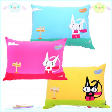 Myoo's Goods - Square Pillow(2)