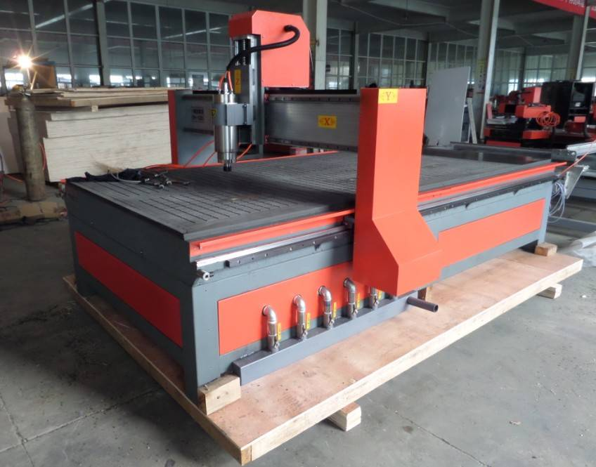 CNC Woodworking Router Machine with Vacuum table