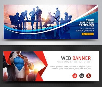 Professional banner design services