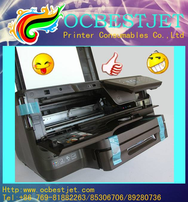 never end service !! HP 950 printer for HP 8600 printer with printer head in 4 colors
