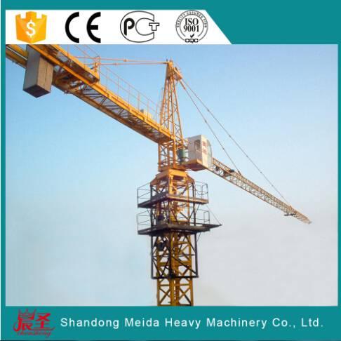 Low Price Construction Materials Hammerhead tower crane 6ton QTZ5810