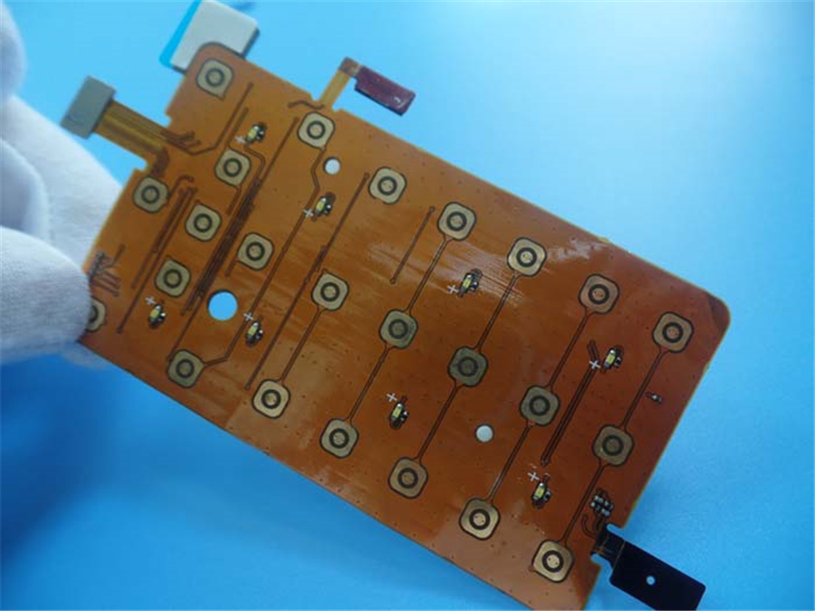OEM Multilayer flexible PCBs Board FPC Polyimide PCBs Manufacturer with 2 oz copper board