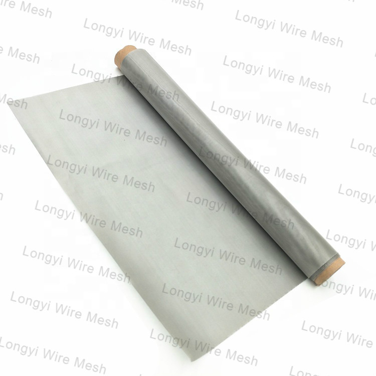 Ultra width 5m 6m 8m 304 316 stainless steel woven wire mesh screen