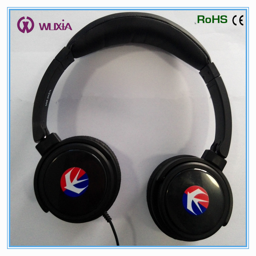 Rechargeable Battery Active Noise Cancelling Stereo Headphones for Airlines