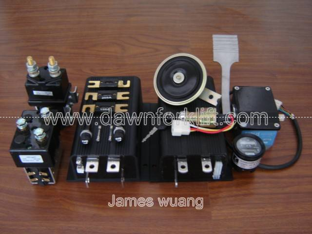 CURTIS 1205+1253 48V HYDRAULIC PUMP CONTROLLER ACCESSORY PACKS 15 IN1 CONTACTOR METER THROTTLE FUSE