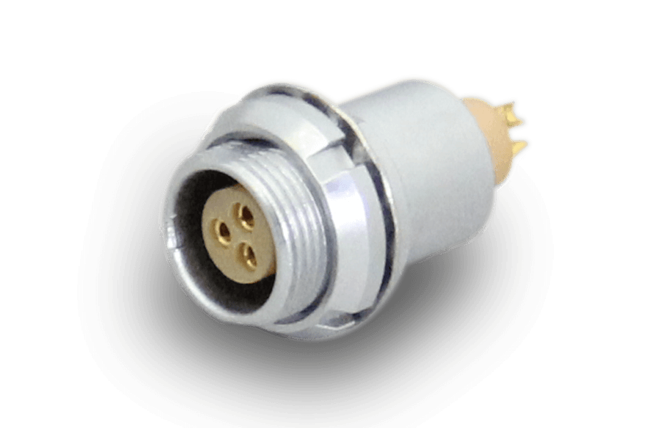 lemo B series mutipins connector-socket: EEG-0B-303-CLL