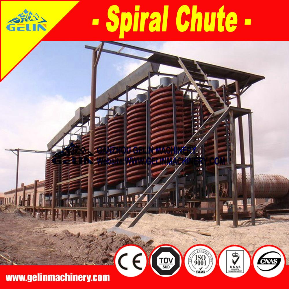 cassiterite mine processing equipment-spiral separator
