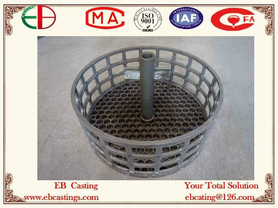 Circular Stackle Baskets with HI Material Heat-treatment Fixture EB22174