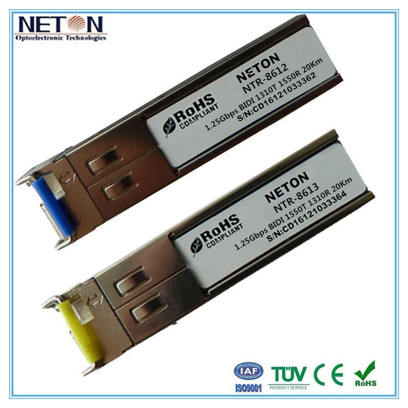 1.25g sfp bidi sc connector transceiver 1000base-lx sfp 1310nm 10km sfp module price
