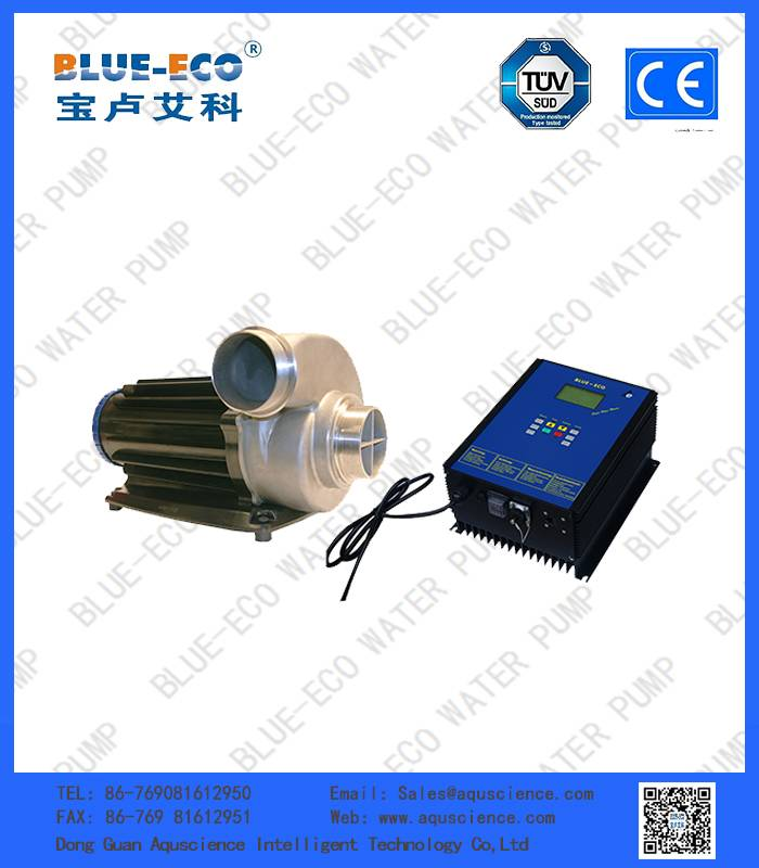 High flow rate fish farm agriculture water pump