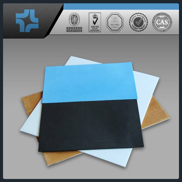 Factory supplier high quality colorful filled PTFE teflon sheet