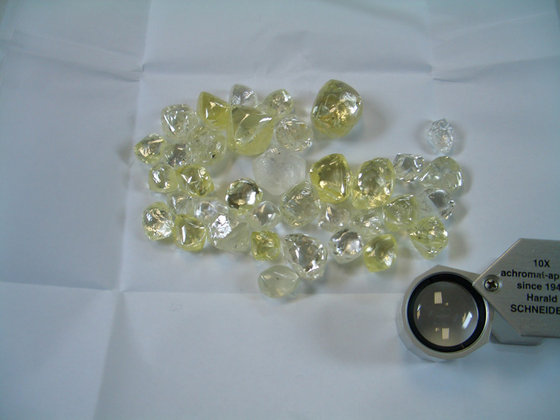 Top Quality Rough Diamonds and Spinel Crystals.For Sale