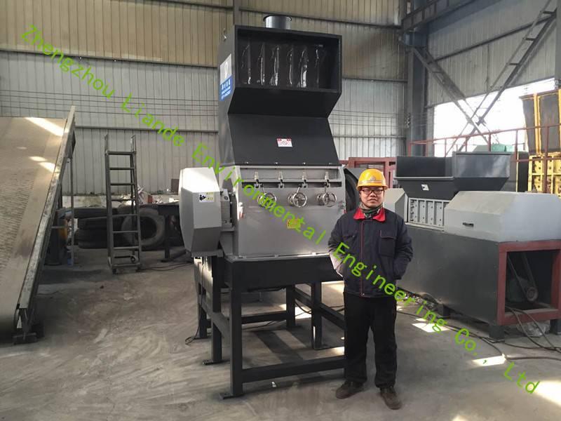 tire/plastic crusher machine
