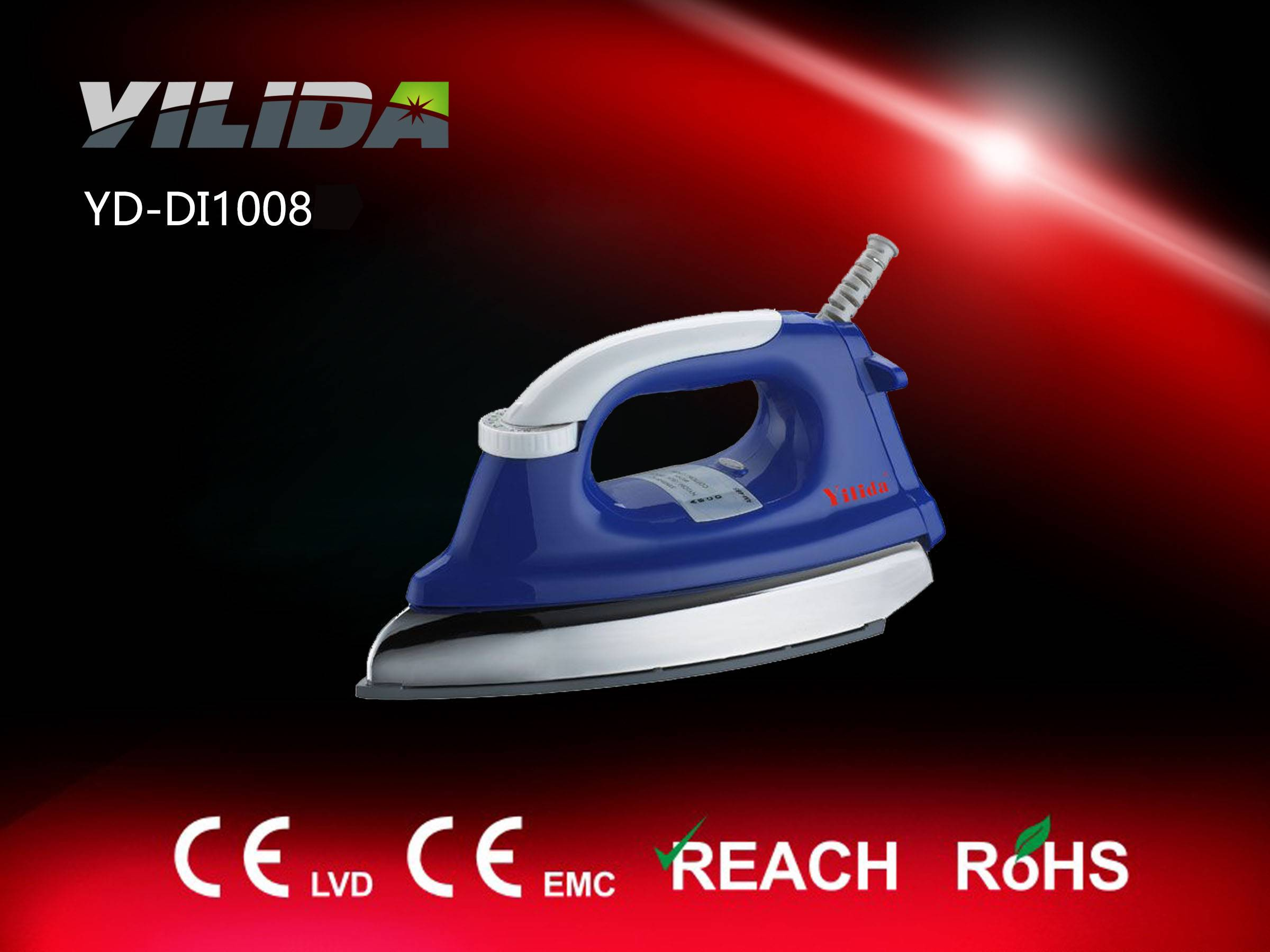 2015 Hot Sell Heavy Dury 1000W Electric dry iron