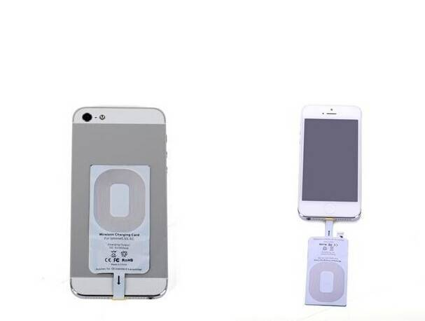 Universal qi wireless charger receiver for iphone 5/5S 6/6+/6S