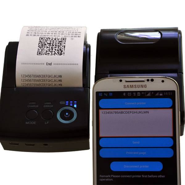 Thermal Printer Bluetooth Android
