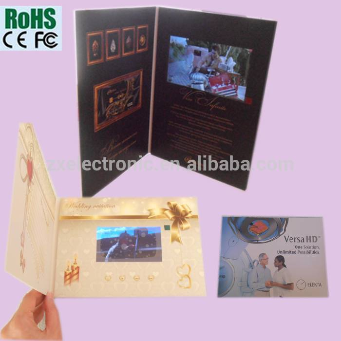 Hot Sell Video Greeting Card Video Card For Advertising