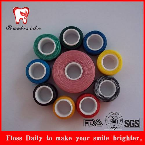 colors semi dental floss products,Dacron spools
