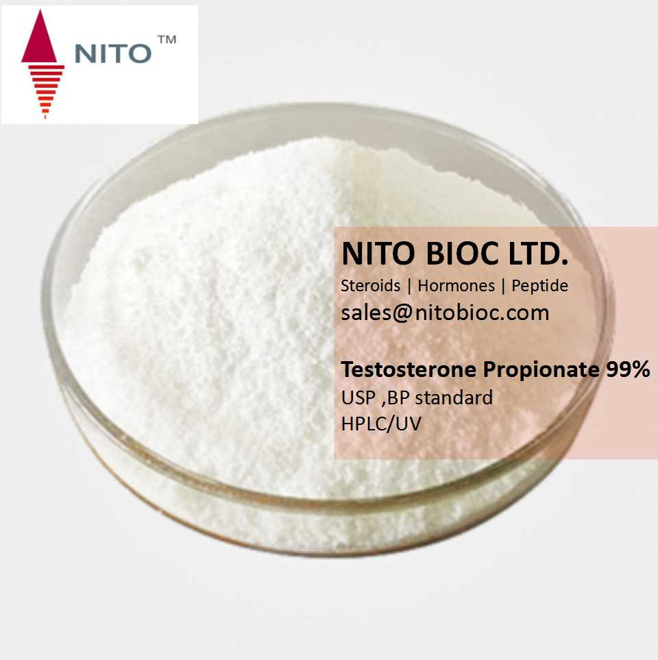 Nito Hot Sell Strong Bodybuilding Steroid: Testosterone Propionate, factory control quality