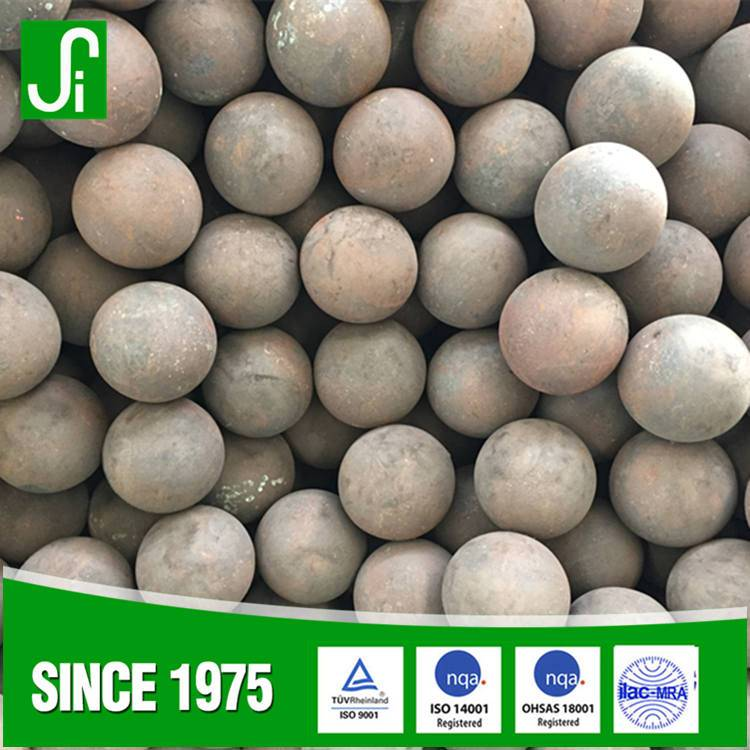 Casting and forged grinding steel ball
