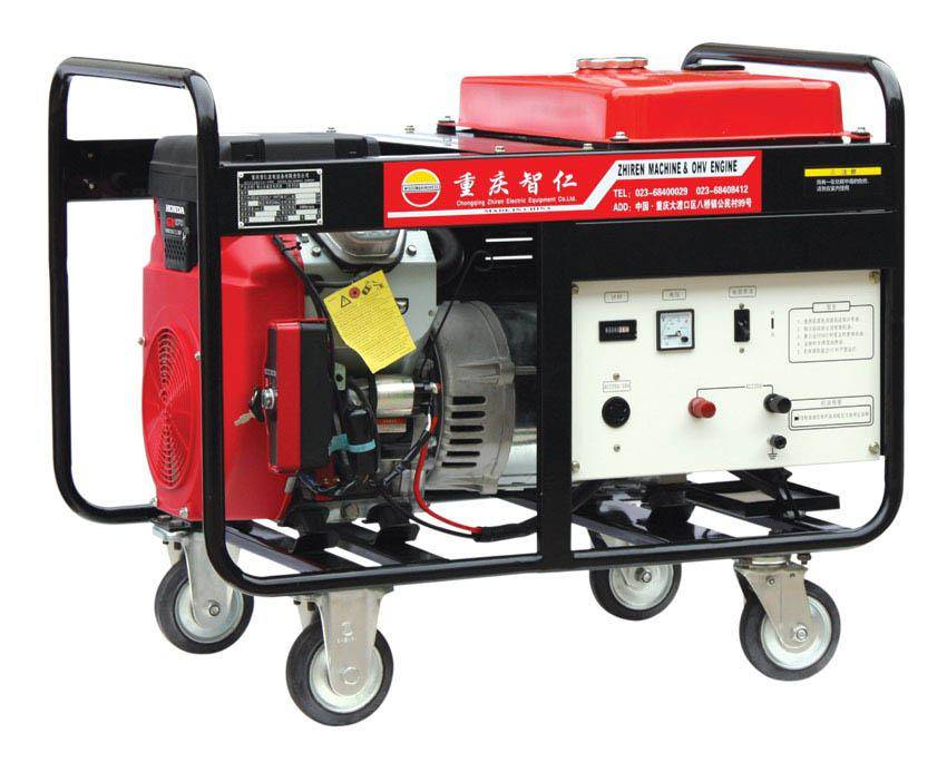 8 KW Portable Rare Earth Magnet Gasoline Generator Set