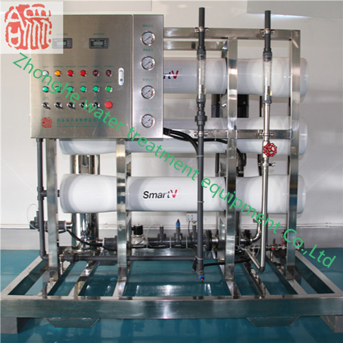 3M3/Hr FPR vessel one stage RO system reverse osmosis machine